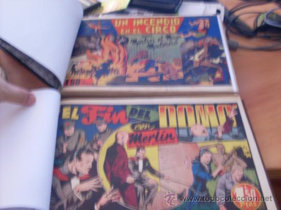 MERLIN EL REY DE LA MAGIA COLECCION COMPLETA (ORIGINAL D. HISPANO AMERICANA)( CLA3) (Tebeos y Comics - Hispano Americana - Merlín)