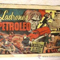 Tebeos: Nº 26 EL MAGO MERLIN. LOS LADRONES DE PETROLEO. HISPANO AMERICANA 1942. . Lote 39226207