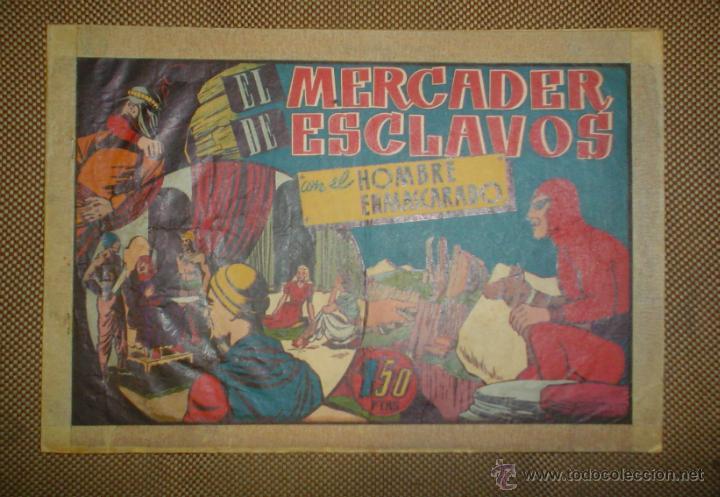 Tebeos: AVENTURA DEL HOMBRE ENMASCARADO. EL MERCADER DE ESCLAVOS . EDICIONES HISPANO AMERICANA - Foto 2 - 18026551