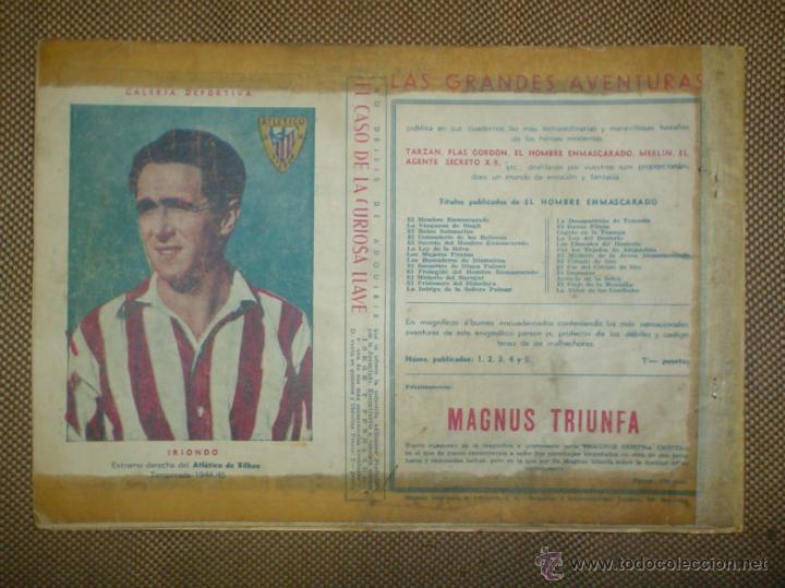 Tebeos: AVENTURA DEL HOMBRE ENMASCARADO. EL MERCADER DE ESCLAVOS . EDICIONES HISPANO AMERICANA - Foto 3 - 18026551