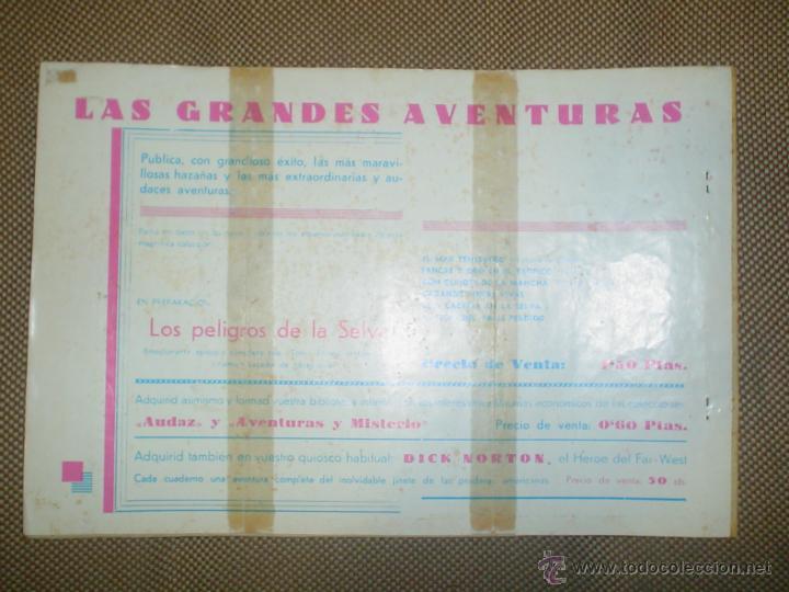 Tebeos: AVENTURA DEL HOMBRE ENMASCARADO. JUSTICIA EN LA SELVA. EDICIONES HISPANO AMERICANA - Foto 2 - 18026643