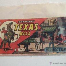 Tebeos: TEXAS BILL Nº140 ORIGINAL. Lote 39673235