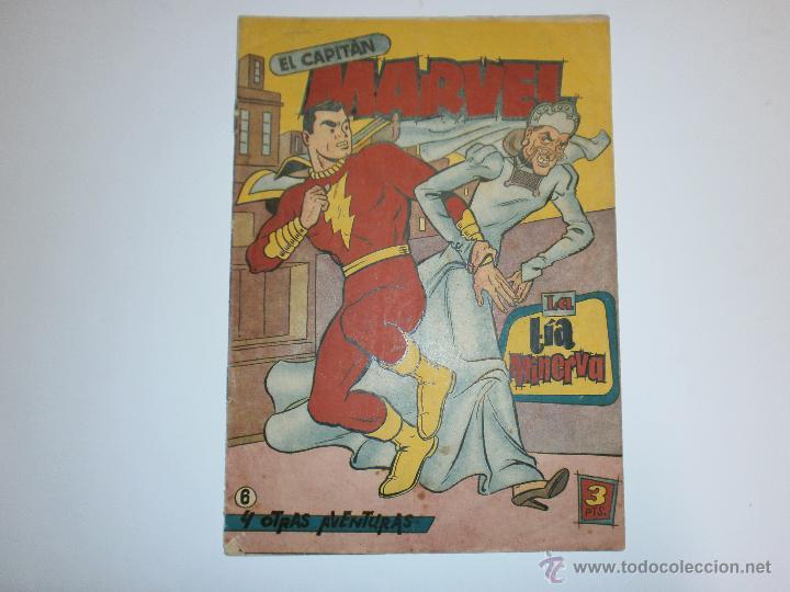 EL CAPITAN MARVEL ORIGINAL DE HISPANO AMERICANA Nº6 (Tebeos y Comics - Hispano Americana - Capitán Marvel)