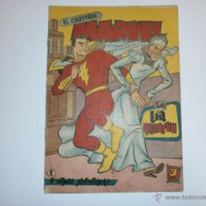 Tebeos: EL CAPITAN MARVEL ORIGINAL DE HISPANO AMERICANA Nº6. Lote 39502909