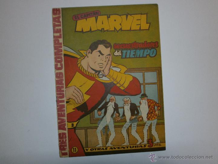 EL CAPITAN MARVEL ORIGINAL DE HISPANO AMERICANA Nº 11 (Tebeos y Comics - Hispano Americana - Capitán Marvel)
