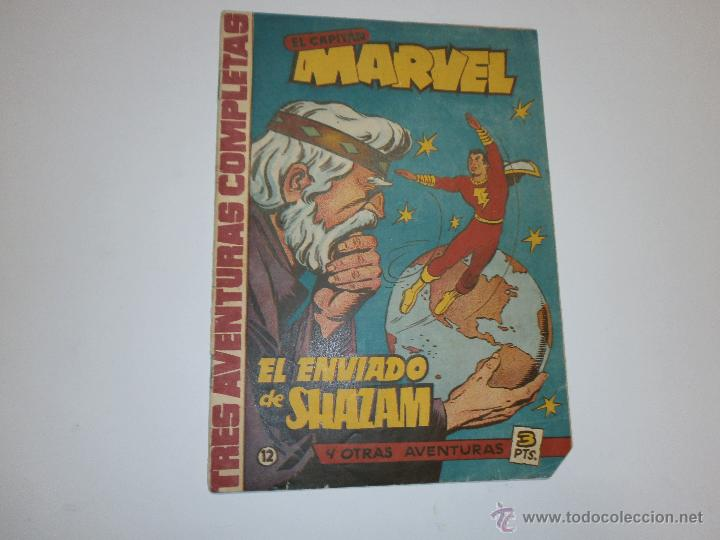 EL CAPITAN MARVEL ORIGINAL Nº12 (Tebeos y Comics - Hispano Americana - Capitán Marvel)