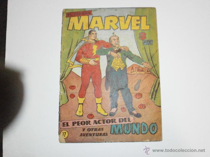 EL CAPITAN MARVEL ORIGINAL Nº17 HISPANO AMERICANA (Tebeos y Comics - Hispano Americana - Capitán Marvel)