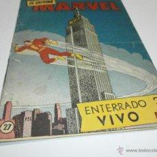 Tebeos: EL CAPITAN MARVEL ORIGINAL DE HISPANO AMERICANA Nº 27. Lote 39512548