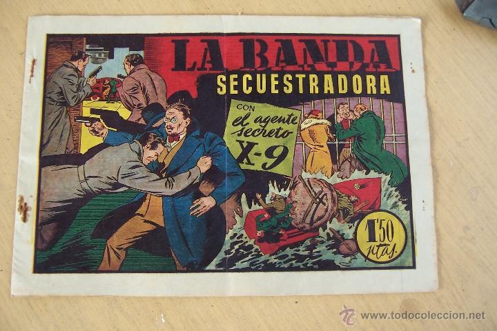 Tebeos: hispano americana. lote agente secreto x-9 formato grande los 14 que son - Foto 12 - 33145230