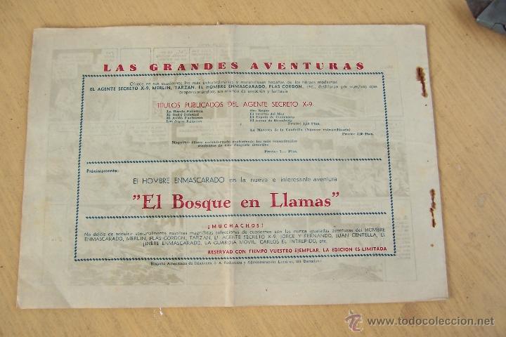 Tebeos: hispano americana. lote agente secreto x-9 formato grande los 14 que son - Foto 13 - 33145230
