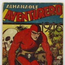 Tebeos: ALMANAQUE AVENTURERO 1946 - HISPANO AMERICANA. Lote 39706728