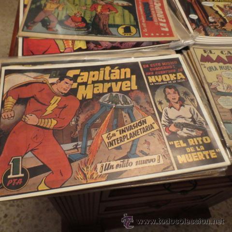 EL CAPITAN MARVEL (HISPANO AMERICANA EDICIONES) COLECCION COMPLETA (Tebeos y Comics - Hispano Americana - Capitán Marvel)