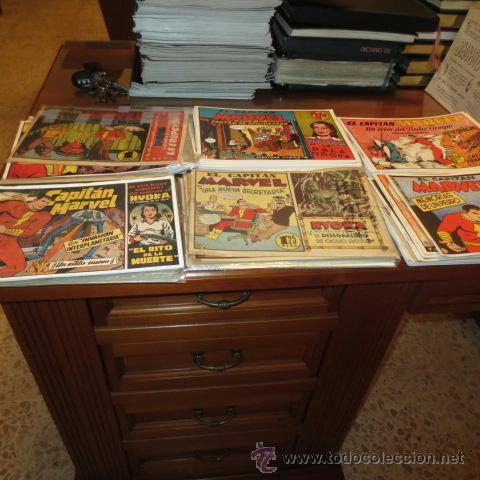 Tebeos: El Capitan Marvel (Hispano Americana ediciones) COLECCION COMPLETA - Foto 2 - 39999965