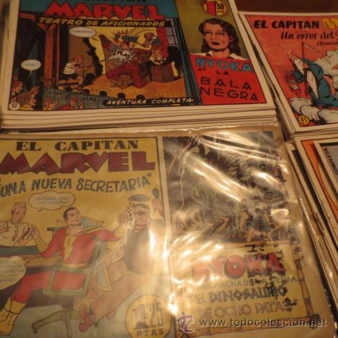 Tebeos: El Capitan Marvel (Hispano Americana ediciones) COLECCION COMPLETA - Foto 3 - 39999965