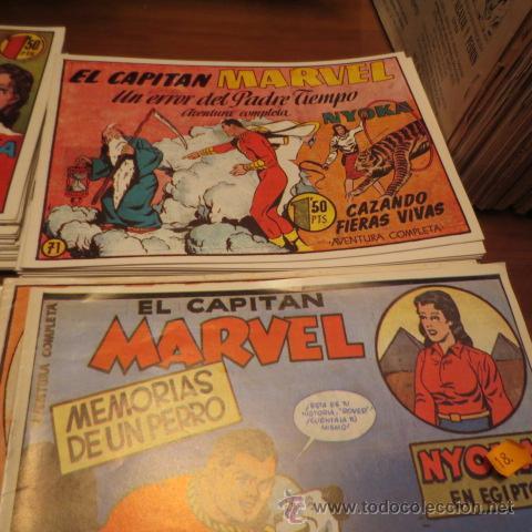 Tebeos: El Capitan Marvel (Hispano Americana ediciones) COLECCION COMPLETA - Foto 4 - 39999965