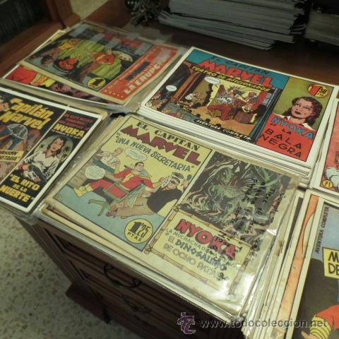 Tebeos: El Capitan Marvel (Hispano Americana ediciones) COLECCION COMPLETA - Foto 5 - 39999965