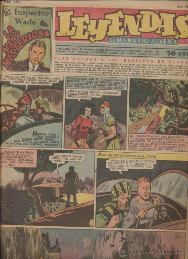 LEYENDAS Nº 159. (Tebeos y Comics - Hispano Americana - Leyendas Infantiles)