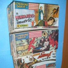 Tebeos: EL PEQUEÑO SHERIFF,DE HISPANO AMERICANA 1948,113 TEBEOS,ORIGINALES. Lote 40090624