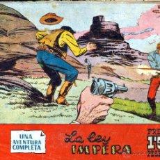 Tebeos: TEBEOS-COMICS GOYO - BUFFALO BILL - Nº 53 - 1958 - LA LEY IMPERA *BB99. Lote 40575907