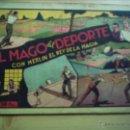 Tebeos: EL MAGO DEL DEPORTE, CON MERLÍN, EL REY DE LA MAGIA.. Lote 40628316