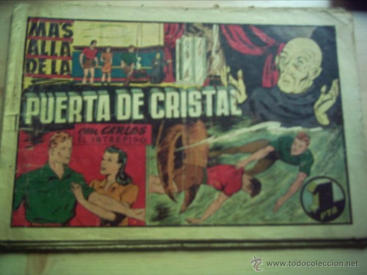 CARLOS EL INTRÉPIDO. MÁS ALLÁ DE LA PUERTA DE CRISTAL. (Tebeos y Comics - Hispano Americana - Carlos el Intrépido)