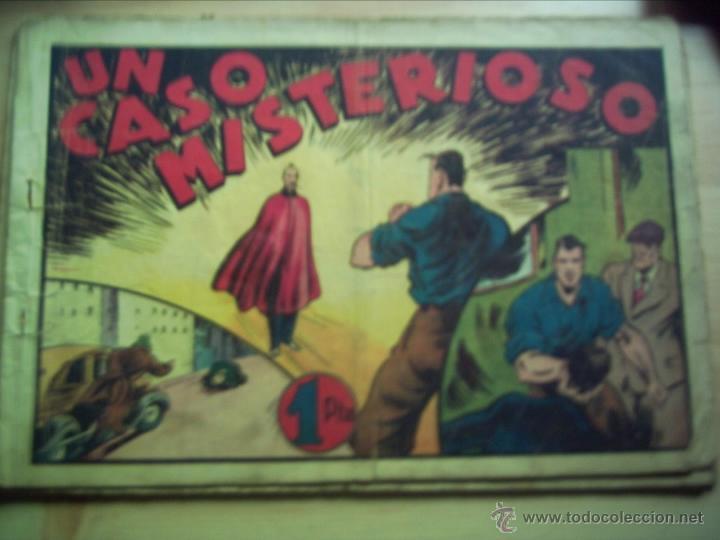 JUAN CENTELLA. UN CASO MISTERIOSO. (Tebeos y Comics - Hispano Americana - Juan Centella)