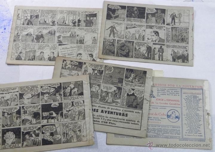 Tebeos: COLECCION DEL INSPECTOR WADE - EL NEGRO N.1, LA CINTA VERDE, LA CLAVE SECRETA, MISTERIO DE LOS ASES - Foto 2 - 40763954
