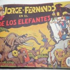 Tebeos: JORGE Y FERNANDO - 23 NÚMEROS ENCUADERNADOS - INCLUYE EL Nº 1, 2, 3, 4, 5, 6, 7, 8, 9, 10, 11, 12, 1. Lote 40764467