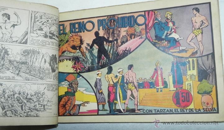 Tebeos: Tarzán, 10 numeos encuadernados - nº 10, 11, 12, 13, 14, 15, 16, 17, 18 y 19 - Editorial Hispano Ame - Foto 2 - 40765676