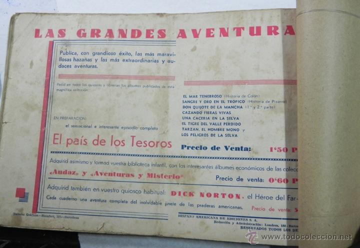 Tebeos: Tarzán, 10 numeos encuadernados - nº 10, 11, 12, 13, 14, 15, 16, 17, 18 y 19 - Editorial Hispano Ame - Foto 5 - 40765676