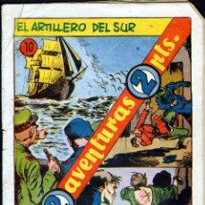 Tebeos: TEBEOS-COMICS GOYO - DOS AVENTURAS DOS PTS - Nº 10 - HISPANOAMERICANA - 1957 - MUY DIFICIL *UU99. Lote 40804685