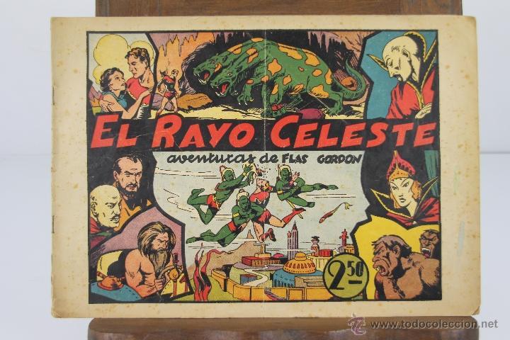 4149- FLAS GORDON Y EL HOMBRE ENMASCARADO. 2 COMICS. EDIT. HISPANO AMERICANA. S/F. ORIGINALES. (Tebeos y Comics - Hispano Americana - Flash Gordon)