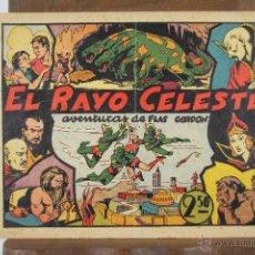 Tebeos: 4149- FLAS GORDON Y EL HOMBRE ENMASCARADO. 2 COMICS. EDIT. HISPANO AMERICANA. S/F. ORIGINALES. . Lote 40919839
