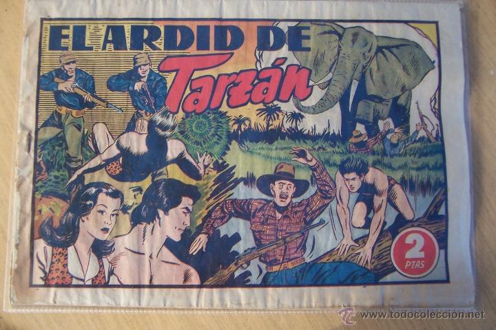 Tebeos: hispano americana - colección de tarzán, años 40, ver interior, - Foto 71 - 26004502