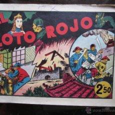 Tebeos: LAS GRANDES AVENTURAS 1942 - EXTRA , DE 2,50 - EL LOTO ROJO - HISPANO AMERICANA. Lote 41228731