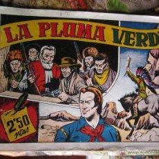 Tebeos: LAS GRANDES AVENTURAS 1942 - EXTRA , DE 2,50 - LA PLUMA VERDE - HISPANO AMERICANA. Lote 41228874