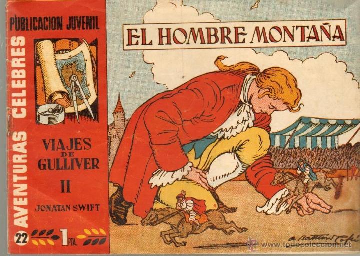 TEBEOS-COMICS CANDY - AVENTURAS CELEBRES - VIAJES DE GULLIVER - COMPLETA - 21 AL 26 - *AA99 (Tebeos y Comics - Hispano Americana - Otros)