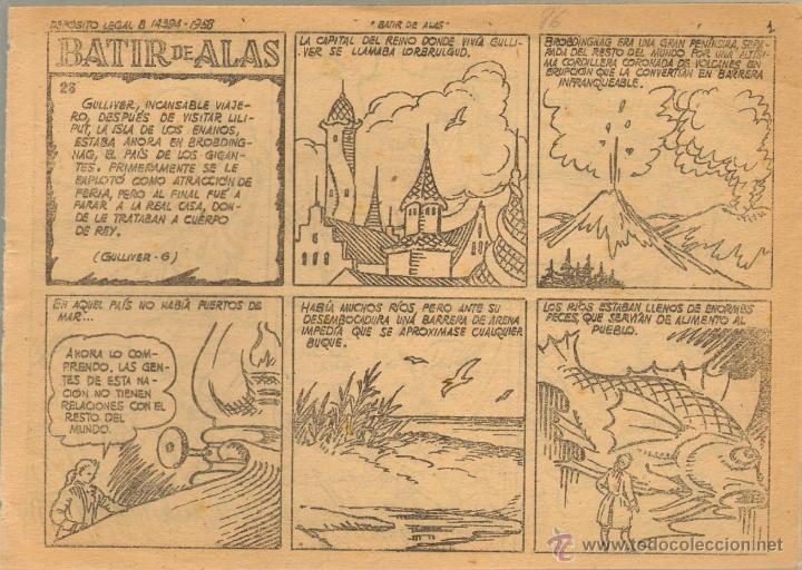 Tebeos: TEBEOS-COMICS CANDY - AVENTURAS CELEBRES - VIAJES DE GULLIVER - COMPLETA - 21 AL 26 - *AA99 - Foto 6 - 41339429
