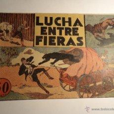 Tebeos: JORGE Y FERNANDO. Nº 14. LUCHA ENTRE FIERAS. HISPANO AMERICANA. Lote 41527326
