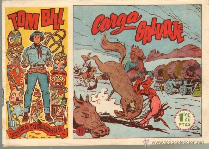 TEBEOS-COMICS CANDY - TOM BILL - Nº 11 - HISPANOAMERICANA - 1954 - BUENO *CC99 (Tebeos y Comics - Hispano Americana - Otros)