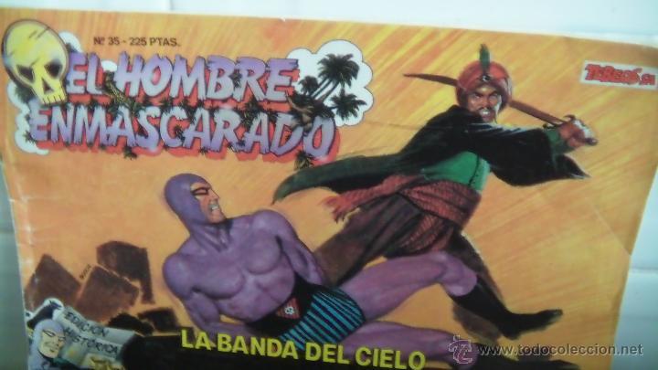 EL HOMBRE ENMASCARADO N 35 (Tebeos y Comics - Hispano Americana - Hombre Enmascarado)
