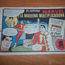 Tebeos: EL CAPITAN MARVEL Nº 8 EDITORIAL HISPANO AMERICANA ORIGINAL 1947. Lote 42067543