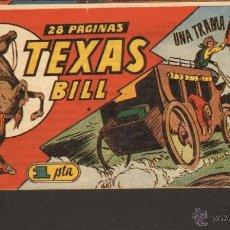 Tebeos: TEBEOS-COMICS CANDY - TEXAS BILL - TEX WILLER - Nº 51 - 1949 - TEX 1ªS AVENTURAS *UU99. Lote 42300547