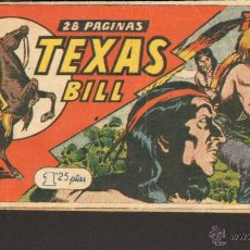 Tebeos: TEBEOS-COMICS CANDY - TEXAS BILL - TEX WILLER - Nº 127 - 1949 - TEX 1ªS AVENTURAS *UU99. Lote 42300570