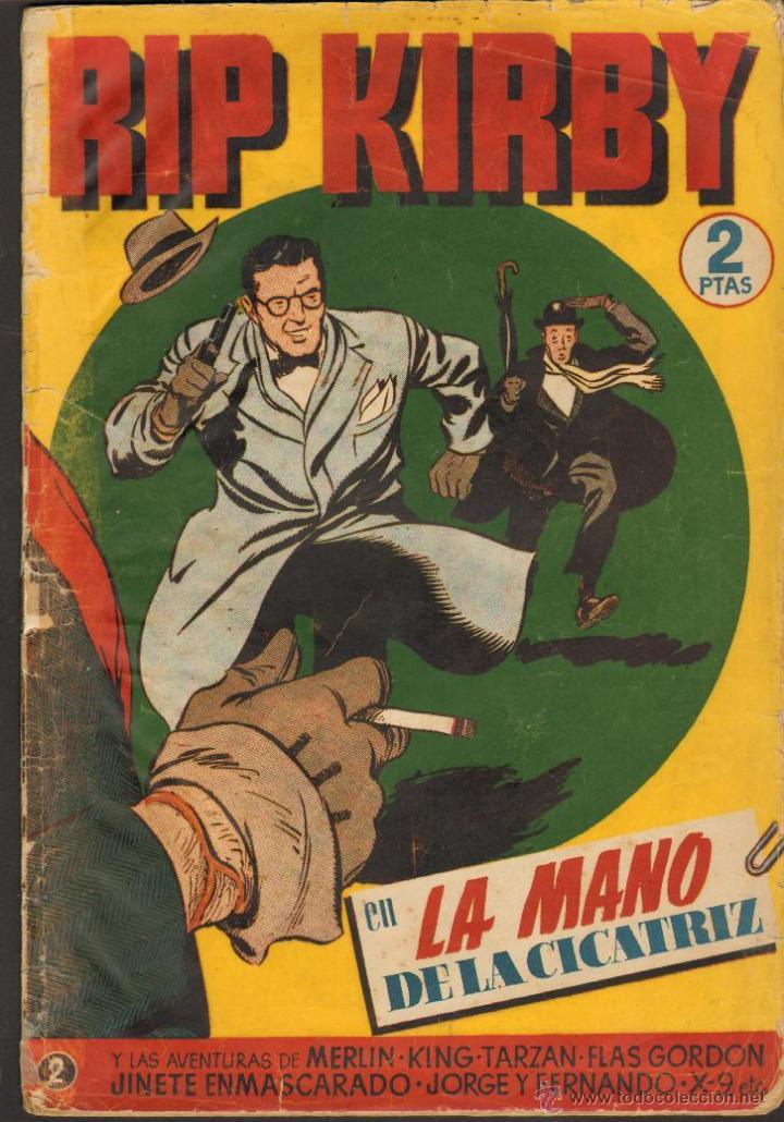 TEBEOS-COMICS CANDY - RIP KIRBY - 2 -CON MERLIN, KING, FLAS GORDON, JORGE Y FDO, TARZAN, ETC...*AA99 (Tebeos y Comics - Hispano Americana - Otros)