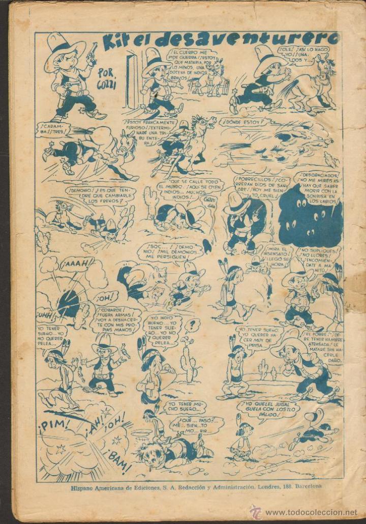 Tebeos: TEBEOS-COMICS CANDY - RIP KIRBY - 2 -CON MERLIN, KING, FLAS GORDON, JORGE Y FDO, TARZAN, ETC...*AA99 - Foto 4 - 42412917