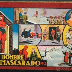 Tebeos: EL HOMBRE ENMASCARADO. ALBUM ROJO Nº 3 ORIGINAL. ED. HISPANO AMERICANA. Lote 42602075