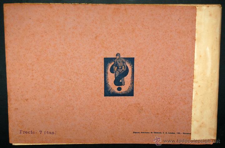 Tebeos: EL HOMBRE ENMASCARADO. ALBUM ROJO Nº 3 ORIGINAL. ED. HISPANO AMERICANA - Foto 10 - 42602075