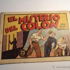 Tebeos: JUAN CENTELLA. EL MISTERIO DEL COLON. HISPANO AMERICANA. ORIGINAL. CON CROMOS EN LA CONTRAPORTADA. Lote 42676714