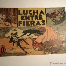 Tebeos: JORGE Y FERNANDO. LUCHA ENTRE FIERAS. HISPANO AMERICANA. ORIGINAL.. Lote 42683475